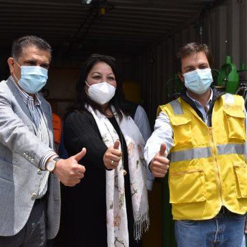 Fondo Social del Puerto de Salaverry instala moderna planta de producción de oxígeno medicinal en Hospital de Campaña Covid-19