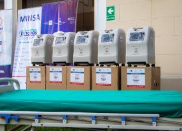 Respira Perú presenta 130 concentradores de oxigeno