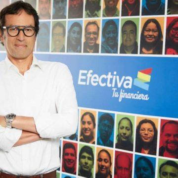 Juan Carlos del Alcázar es el nuevo gerente general de Financiera Efectiva