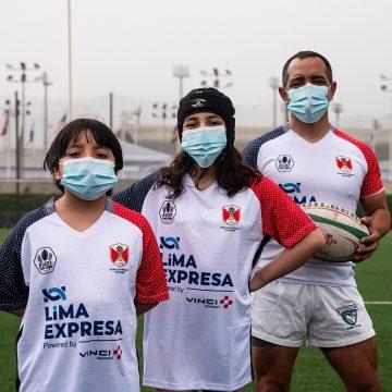 Academia virtual RUGBY PARA TODOS entrenó a 300 niños y adolescentes durante pandemia