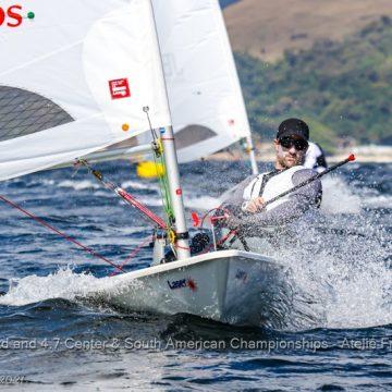 Stefano Peschiera se coronó bicampeón en el campeonato centro sudamericano de vela en Brasil