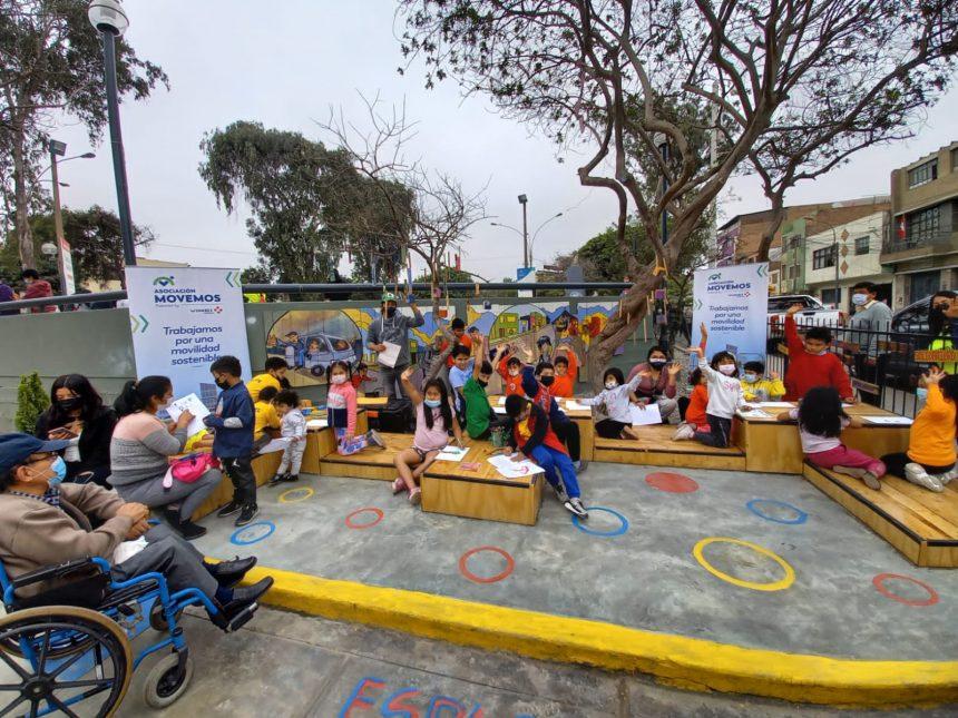 Vecinos de Mirones Bajos recuperan zona urbana mediante acciones de seguridad vial gracias al concurso MUEVETE PERÚ