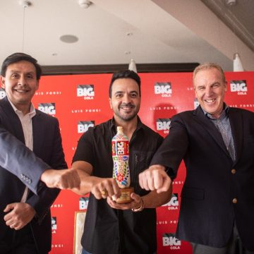 Luis Fonsi es el nuevo rostro de Big Cola en el mundo
