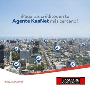 Banco comercio amplía su red de pagos gracias a su alianza con Kasnet