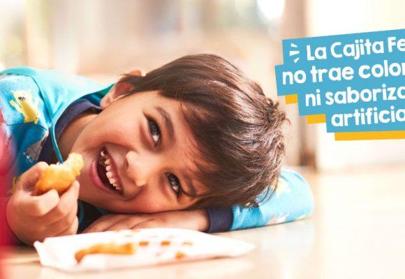 Anuncio de McDonald's: la Cajita Feliz no trae colorantes ni saborizantes artificiales